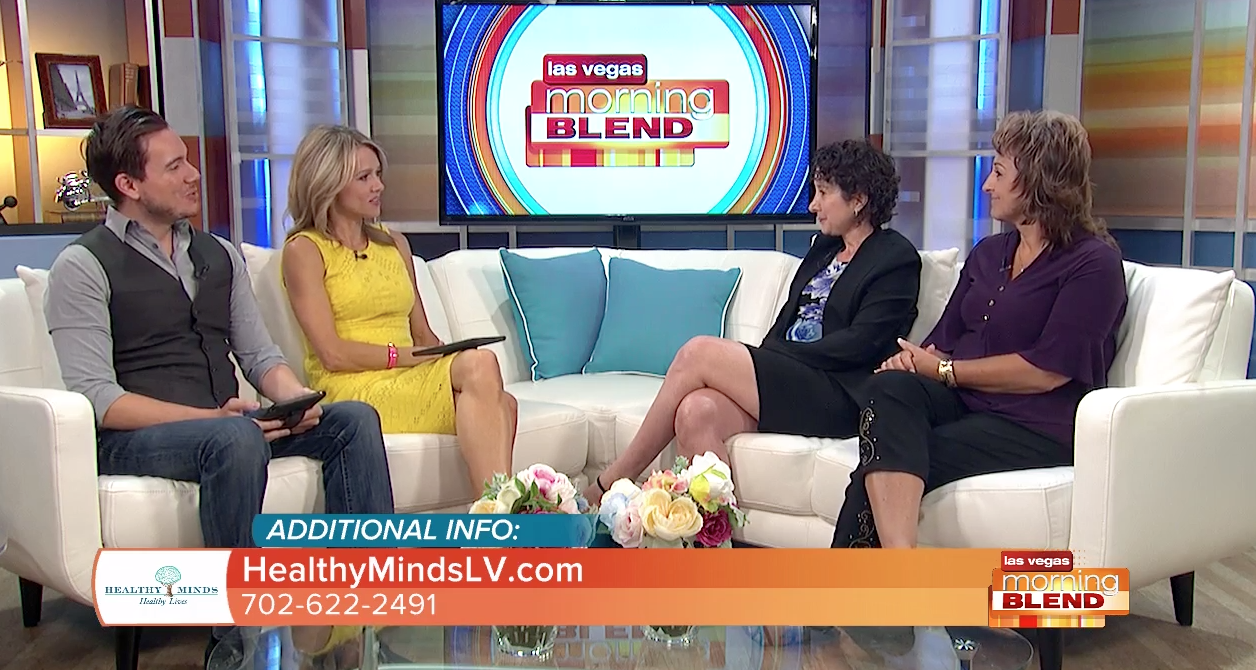 Clinical Director, Melissa Paller, and Medical Director, Dr. Lisa Durette, on ABC News 13' Morning Blend show discussing Healthy Minds' new Substance Use Disorder program.