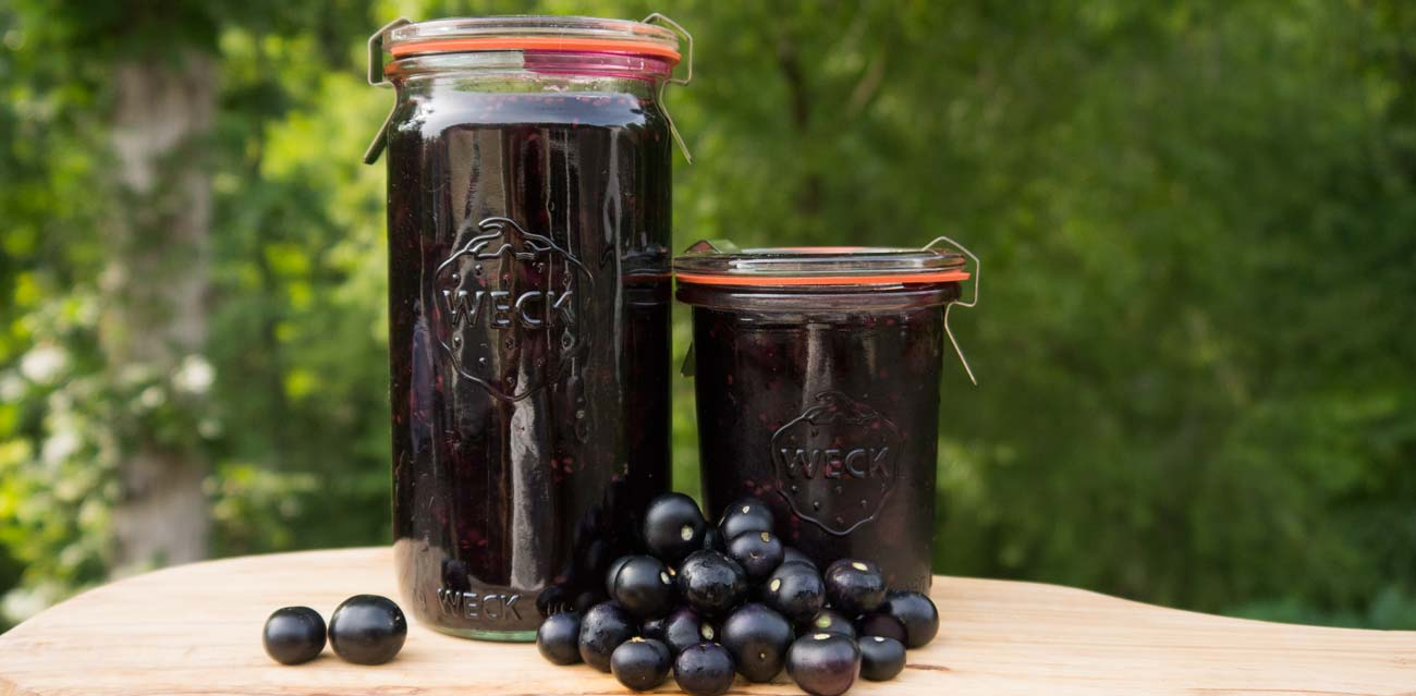 Recipe: Garden Huckleberry Preserves (a Nightshade Berry) thumbnail