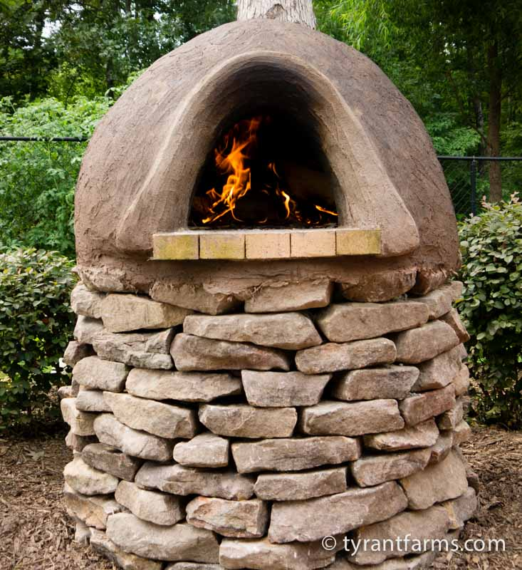How To Make A Wood Fired Oven With Cob Tyrant Farms